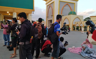 Photographer dan Jurnalis Galang Dana Peduli Korban Gempa Lombok