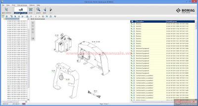 tamper bomag bpr wiring diagram bomag 138ad roller wiring diagram free auto repair manual : bomag electronic parts catalogue ...