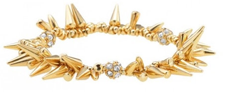 Stella & Dot Renegade Bracelet in Gold
