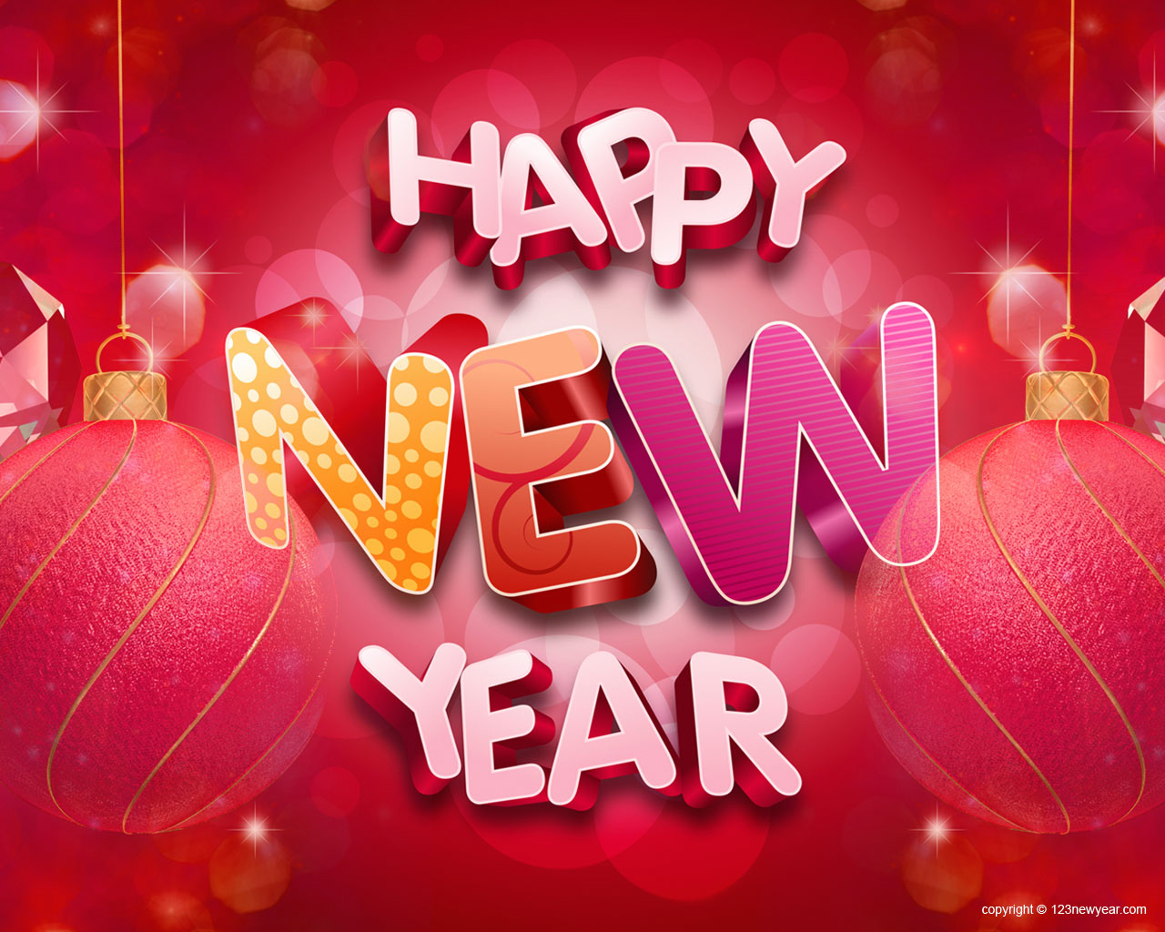 cool happy new year