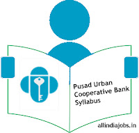 Pusad Urban Cooperative Bank Passing Officer Syllabus
