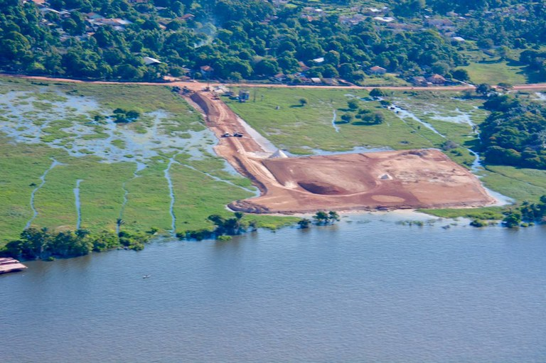 Ministério Público pede à Semas suspensão de licenças para porto em Santarém