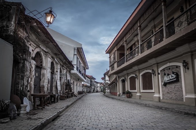 Vigan Heritage Village: Calle Crisologo and Plaza Salcedo