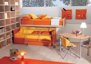 kamar tidur anak laki laki minimalis