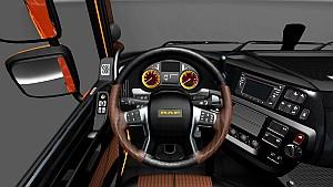 Wood interior for DAF Euro 6