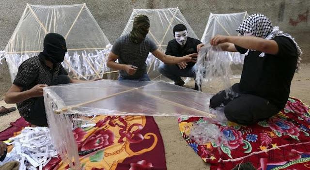 layang-layang palestina