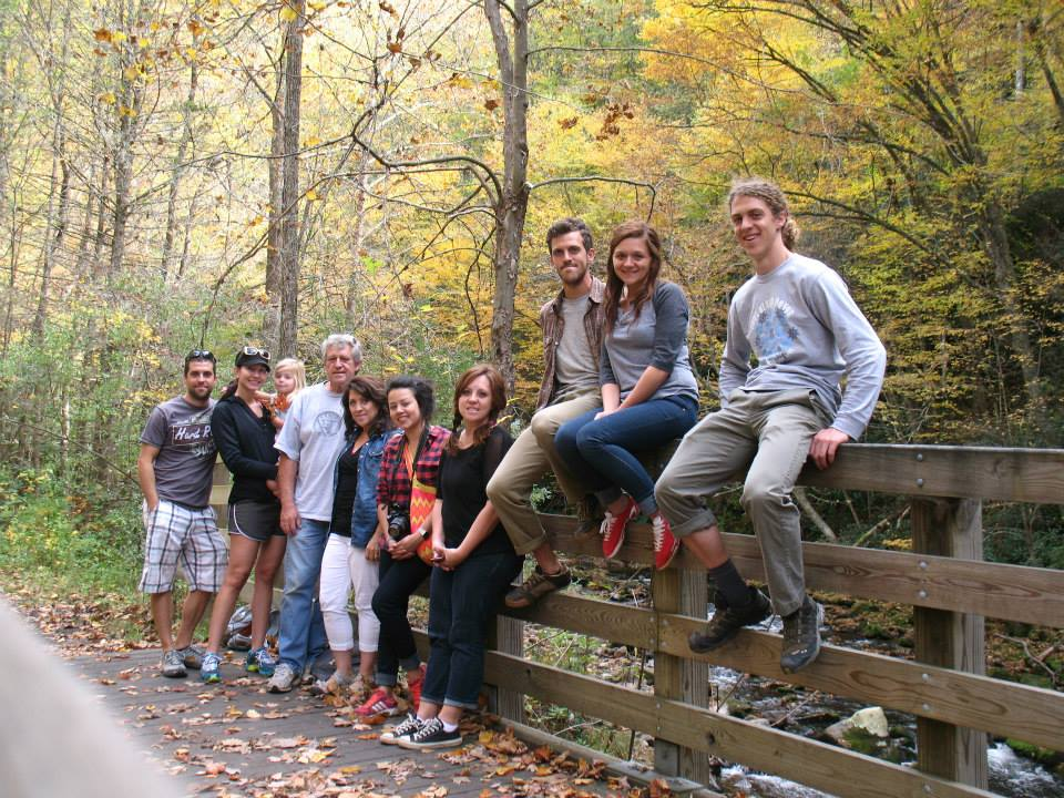 Amy West and husband join family on the Virginia Creeper Trail
