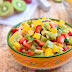 Kiwi Mango and Strawberry Salsa