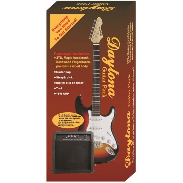 Pack guitarra eléctrica Daytona