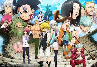 Nanatsu no Taizai, Terceira temporada ganha trailer e nova imagem promocional