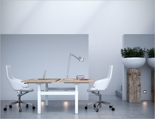 best buy modern office furniture small spaces for two sale