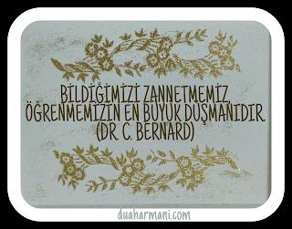 ALTIN SÖZLER/Dr. C. BERNARD