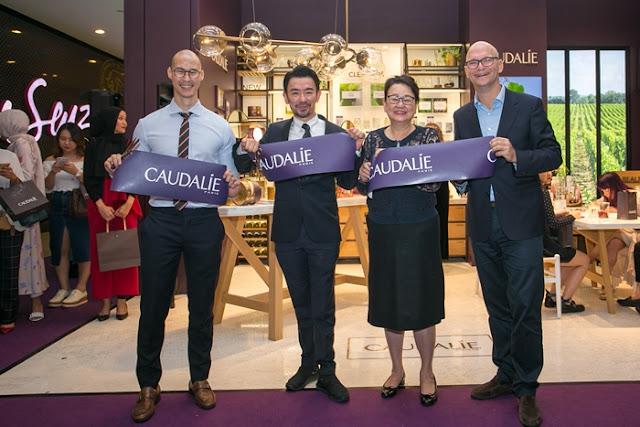 Caudalie Malaysia, Caudalie Pavilion KL, Caudalie 4th Boutique, Pavilion Kuala Lumpur, Caudalie, Beauty