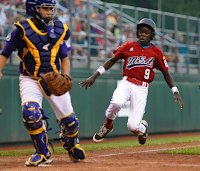 Lugazi Uganda Little League in action playing baseball Africa Baseball Facts