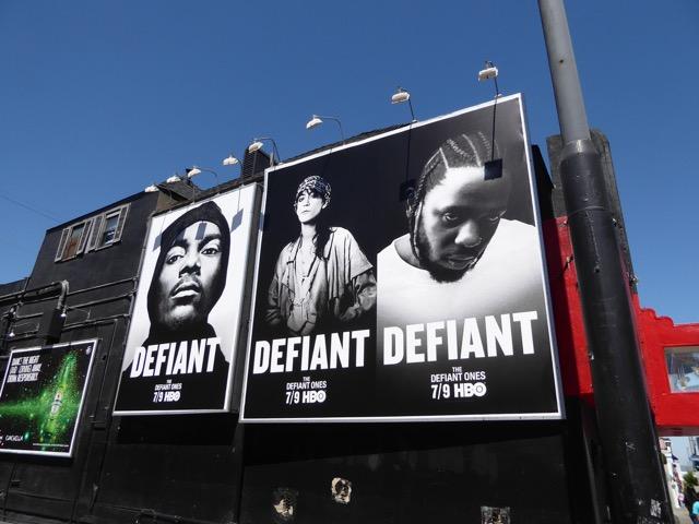 Defiant Ones HBO docs-series billboards