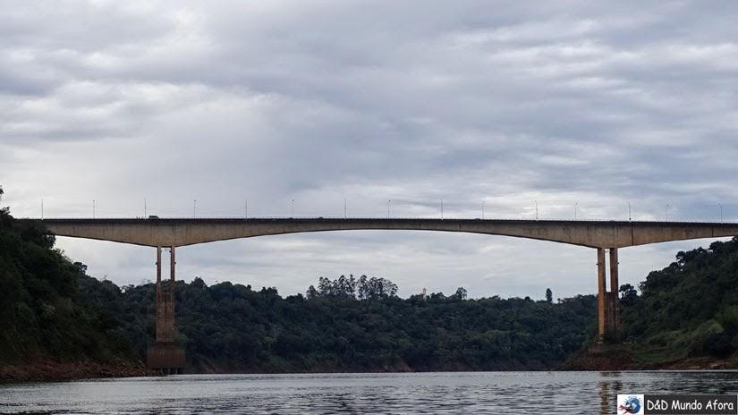 O que fazer em Puerto Iguazú - Ponte da Fraternidade