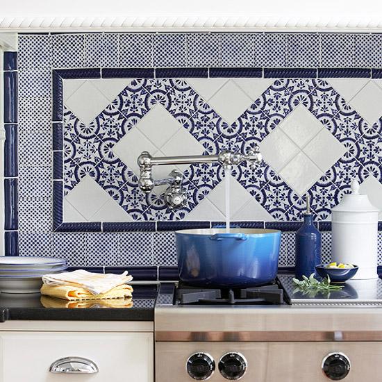 Mediterranean Kitchen Backsplash Ideas: Home Quotes: 9 Colorful Kitchen Backsplash Inspiration