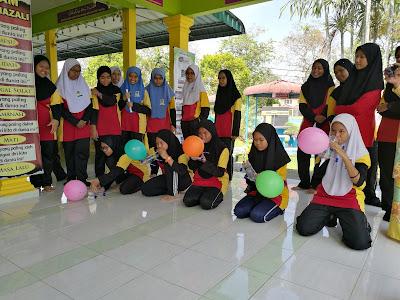 Aktiviti STEM di SMK Tun Sharifah Rodziah