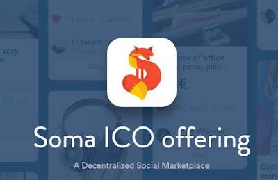 SOMA ICO Indonesia, sosial marketplace yang terdesentralisasi