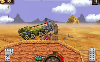 Monster Car Hill Racer Apk Mod Terbaru