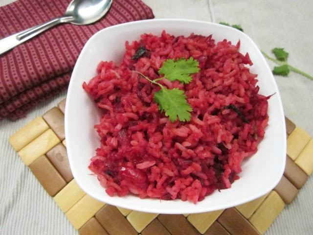 Virunthu Unna Vaanga Beetroot Rice Biryani Flavor