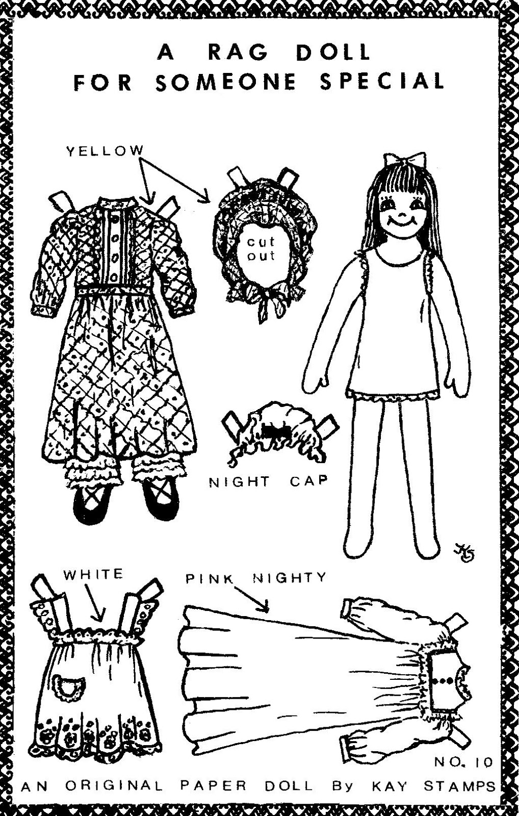 Mostly Paper Dolls Too!: Rag Doll Paper Dolls by Kay Stamps.