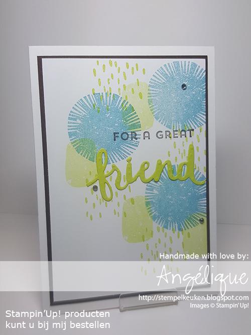 Stampin'up! producten koopt u bij de Stempelkeuken http://stempelkeuken.blogspot.com #stampinup #stampinupnl #stempelkeuken #lovelyinsideandout #lovely #friend #cardmaking #kaartenmaken #papercrafting #papier #knutselen #bso #denhaag #westland #rotterdam #rijswijk #bigshot #thinlits #makeacardsendacard #vriendschap #creatief #stempelen #kreativ #stempeln #basteln