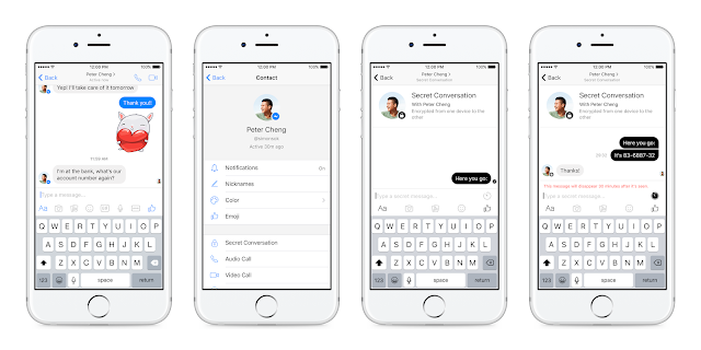 Facebook Messenger End-to-end Encryption
