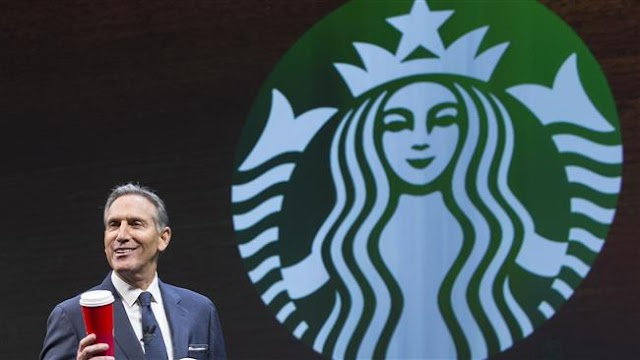 Starbucks CEO Howard Schultz declares support for Hillary Clinton