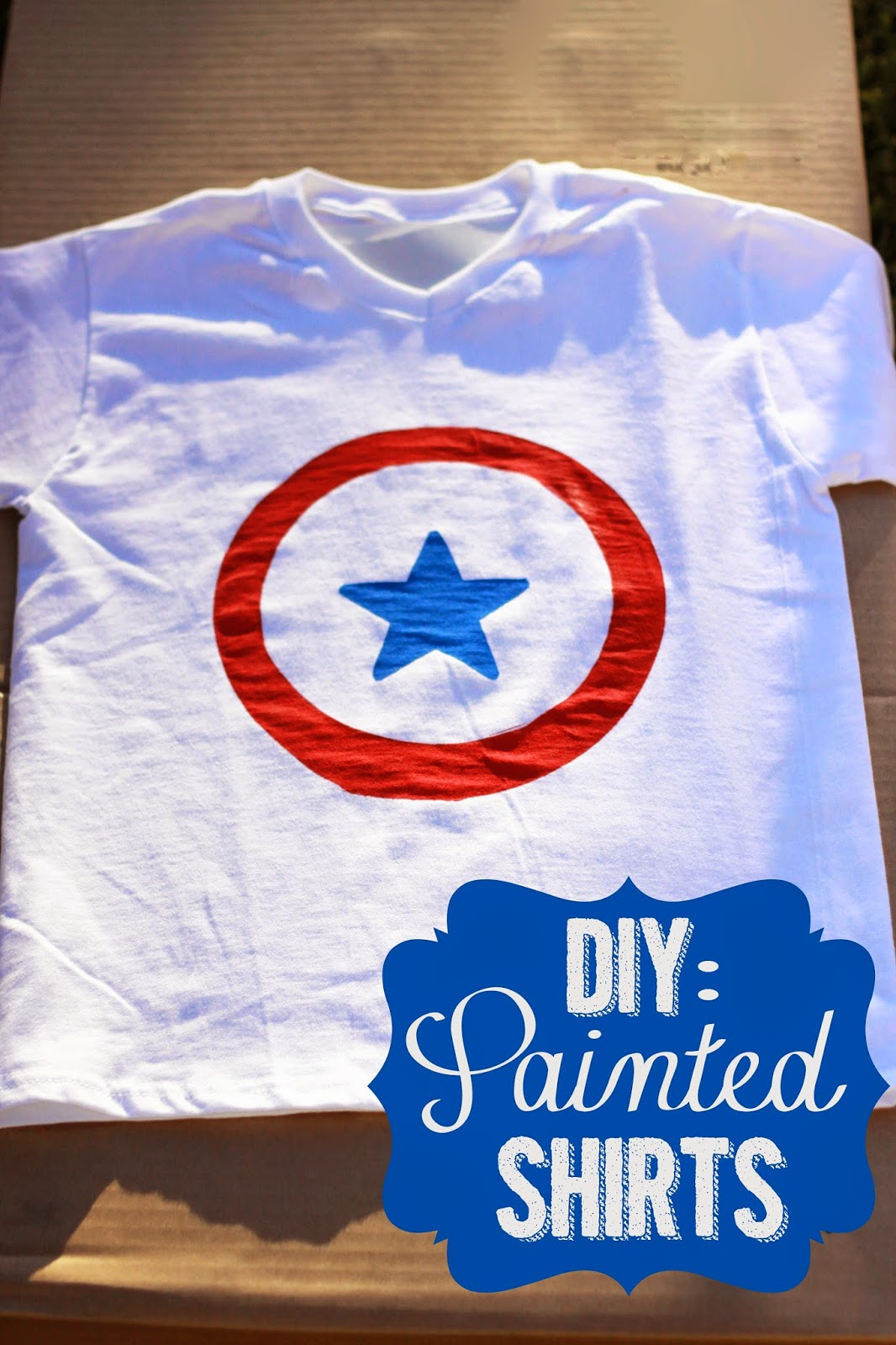 Amy S Craft Bucket Diy Painted Shirts