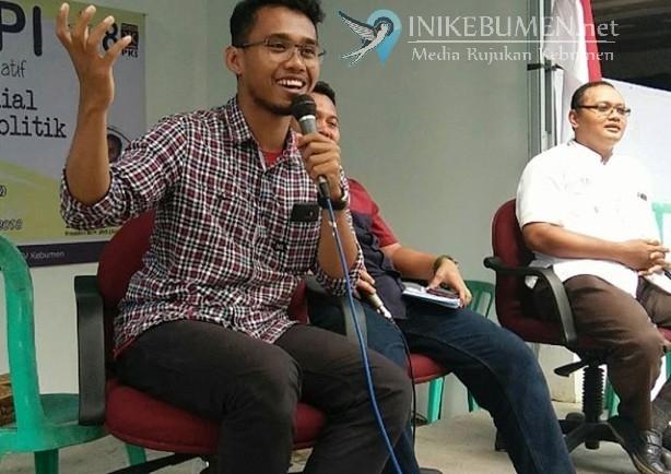 Ngopi di 3D Studio, PKS Kebumen Hadirkan Presiden BEM UNS Surakarta