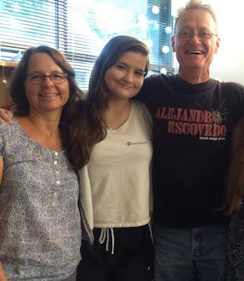 Kennedy-Long family at Trinity University