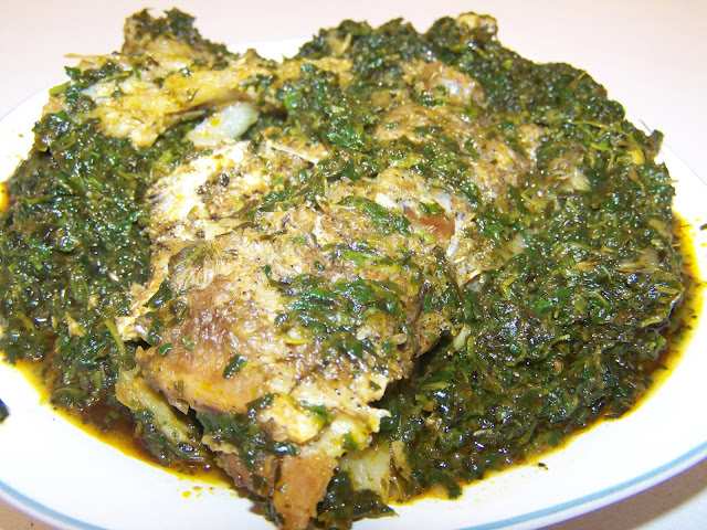 How to Make Afang Soup