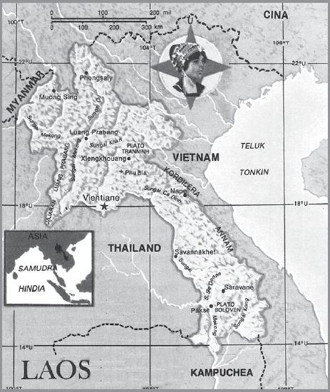 Letak Geografis dan Astronomis Laos, Iklim, Bentang Alam, Bentuk Pemerintahan, Keadaan Ekonomi Sosial Budaya serta Luas dan Batas Wilayah Negara Laos