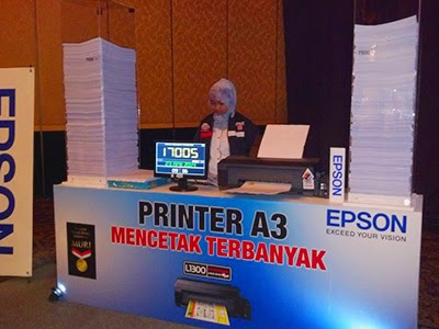 solution ink out error for epson printer