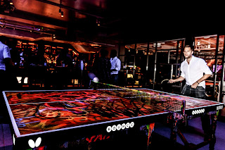 Bounce Shoreditch London Table Tennis Ping Pong