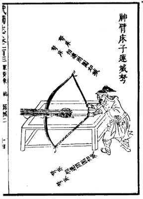 Ming Chinese Tower Crossbow