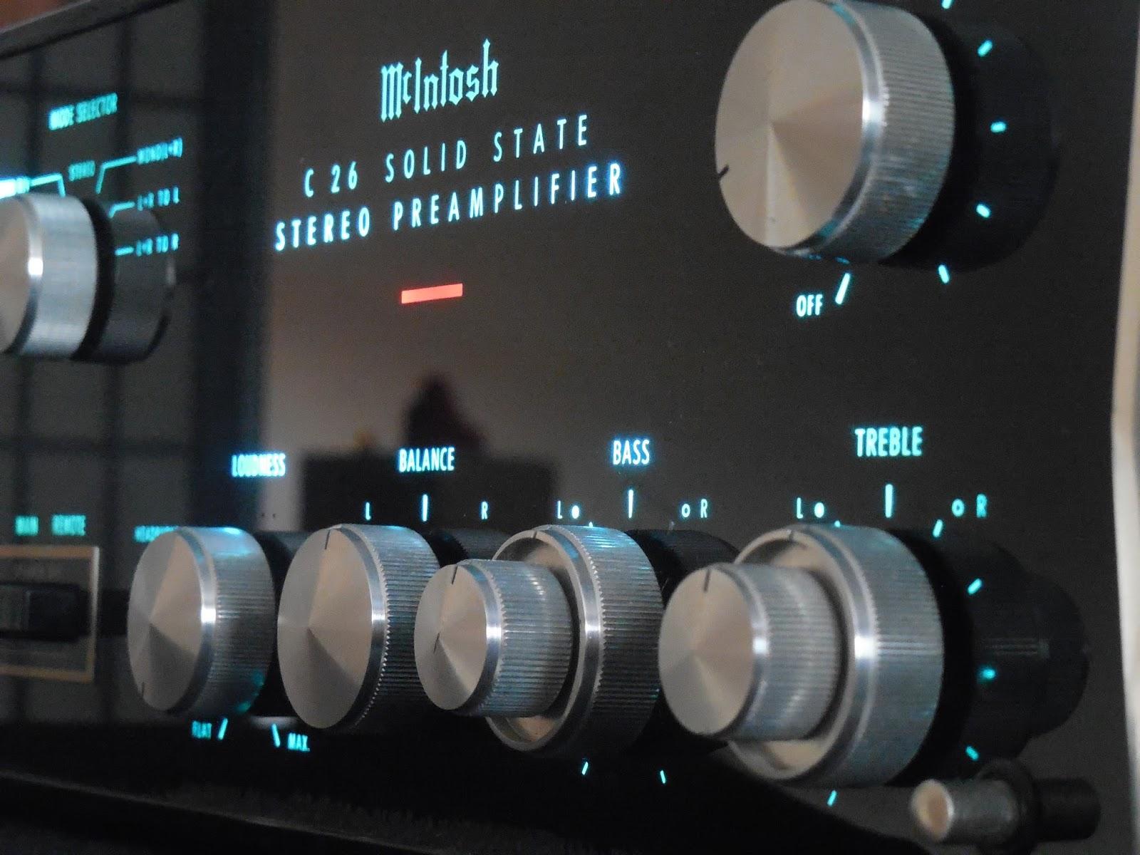 Vintage Hi-Fi Audio Restorations: McIntosh C26 Pre-Amplifier