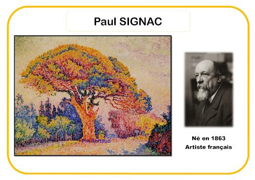 Paul Signac - Portrait d'artiste en maternelle