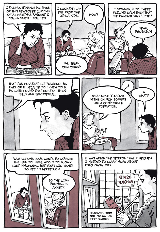 Page 7, Chapter 2: Transitional Objects from Alison Bechdel's graphic novel Are You My Mother