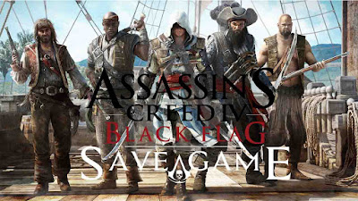 assassin's creed black flag pc save 100%