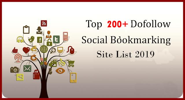 Top 1000+ Free Dofollow Social Bookmarking Sites List 2019