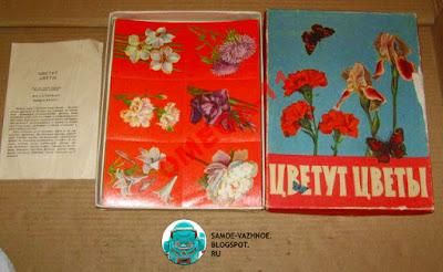 Цветут цветы игра СССР Файнштейн Минаева 1981, 1985, 1990, 1991.