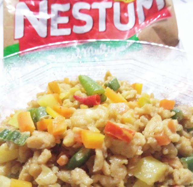 Olahan menu sarapan sehat dengan nestum