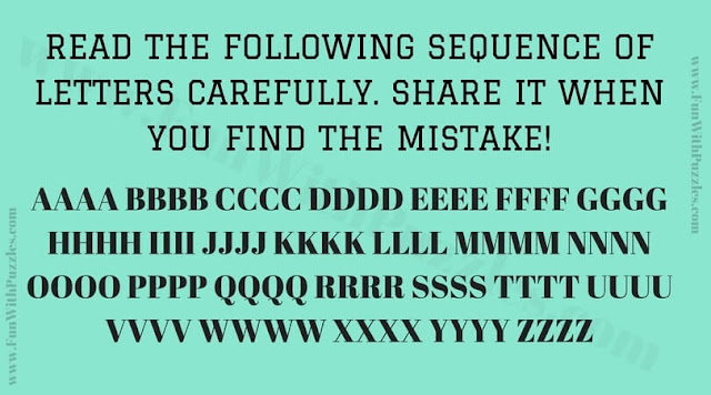 Finding Mistake Picture Puzzle