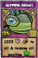 Wizard101 Level 100 Storm Spell - Glowbug Squall (Darkmoor Reward)