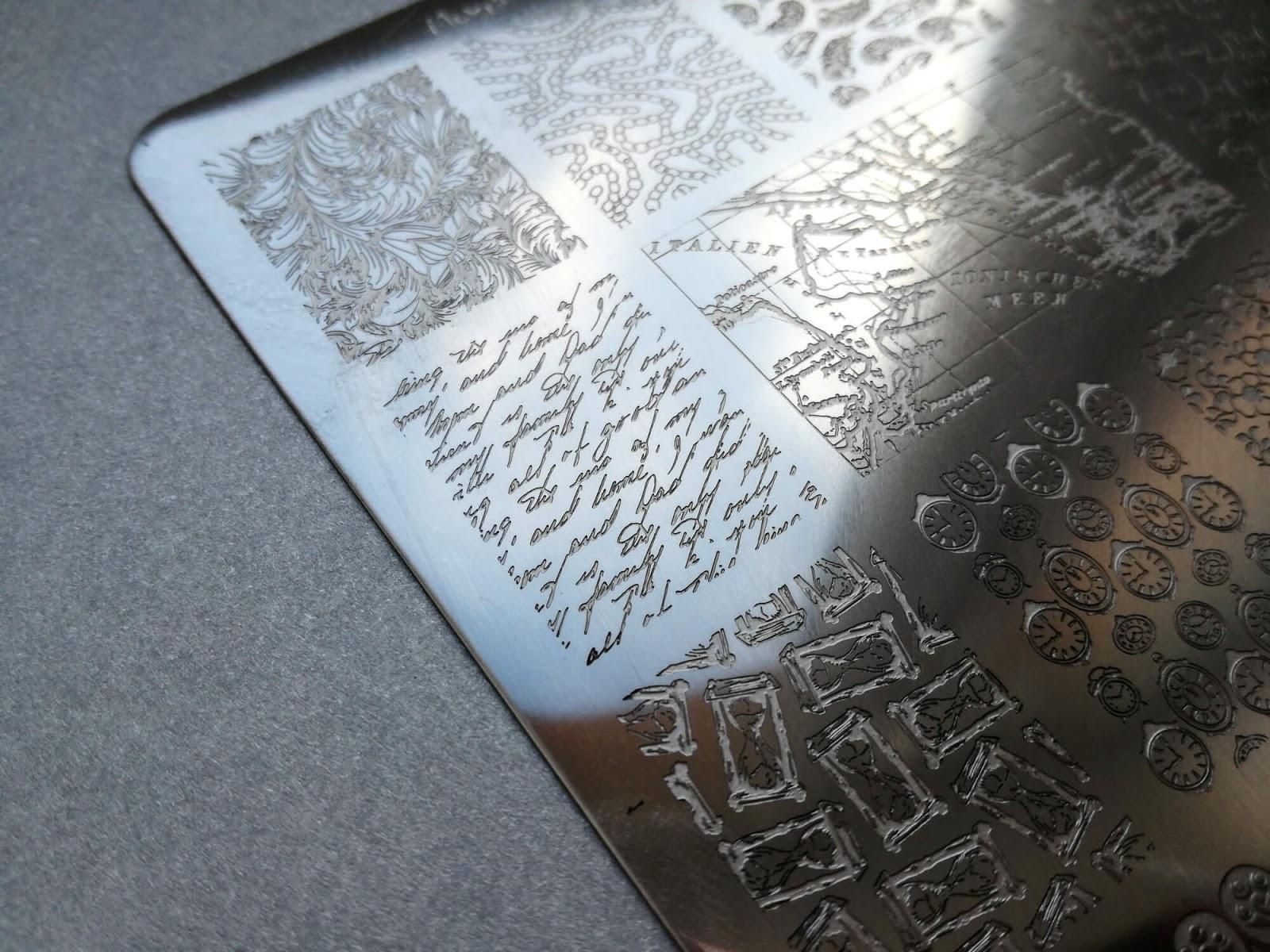 Moyra vintage 2 wzór pisma