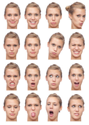 body language: Face