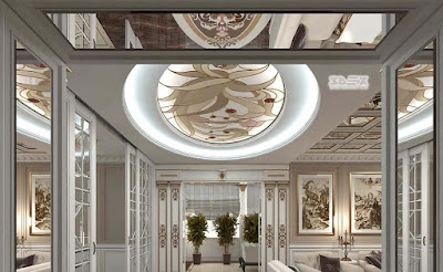 plaster board false ceiling designs 2019 for luxury living rooms