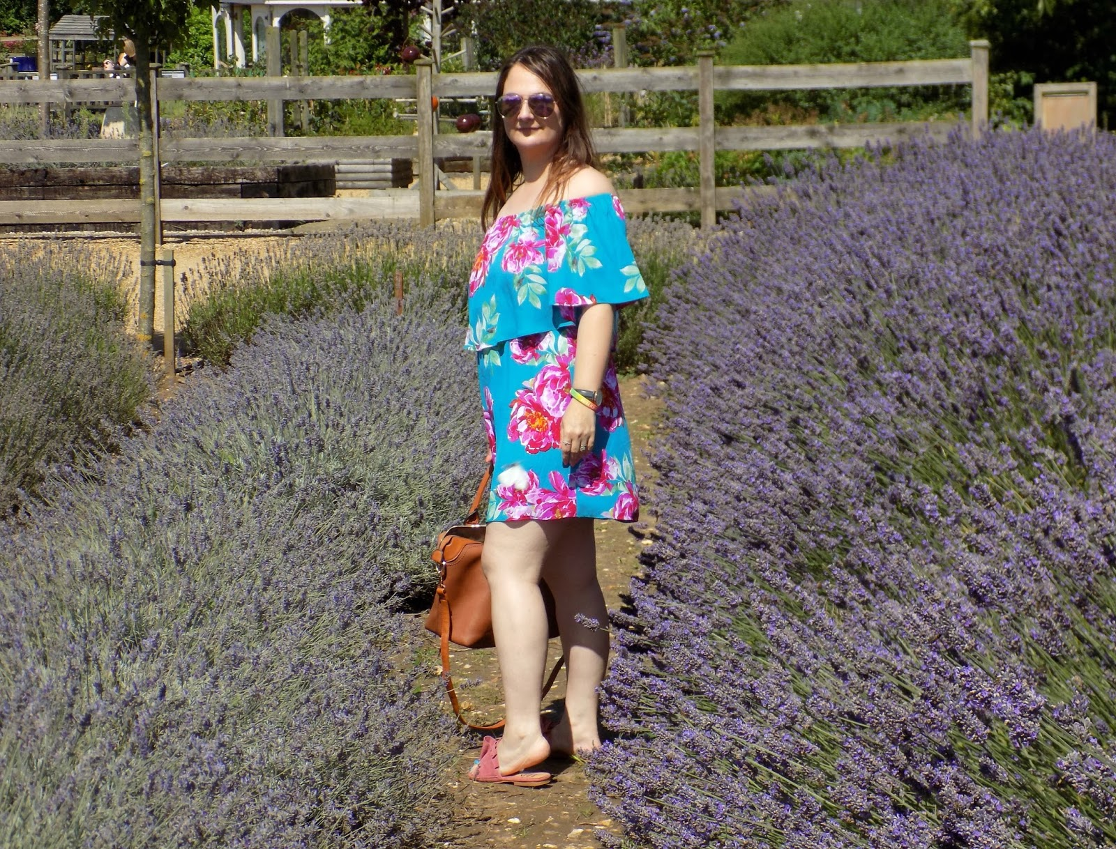 Matalan floral print bardot dress